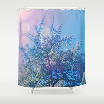 Joyful Shower Curtain by DuckyB (Brandi)