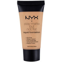 NYX - Stay Matte But Not Flat Liquid Foundation - Warm Beige - SMF17