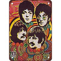 "7"" x 10"" METAL SIGN - 1968 Beatles Music Store Poster - Vintage Look Reproduction"