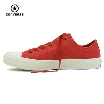 CREYUG7 Converse Chuck Taylor II new All Star low men and women's sneakers canvas shoes Class