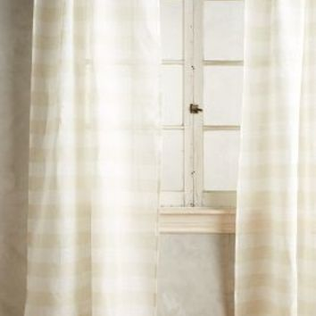 Averill Striped Curtain by Anthropologie