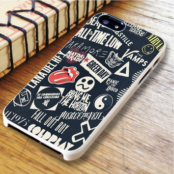 punk black band All time low the beatles bring me the horizon | For iPhone 6 Plus Cases | Free Shipping | AH0429