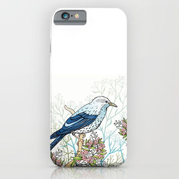 Blue Bird iPhone & iPod Case by MIKART