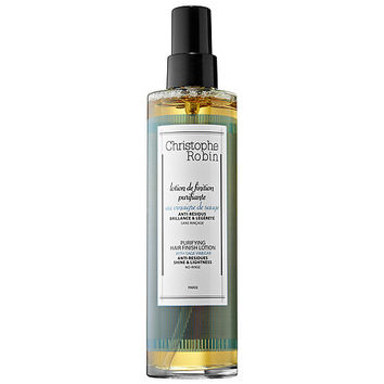 Christophe Robin Purifying Hair Finish Lotion with Sage Vinegar (6.8 oz)