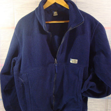 VTG Sierra Designs Vintage Fleece Navy Blue 90s Clothes