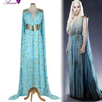 Game of Thrones Cosplay Daenerys Targaryen  Wedding Dress