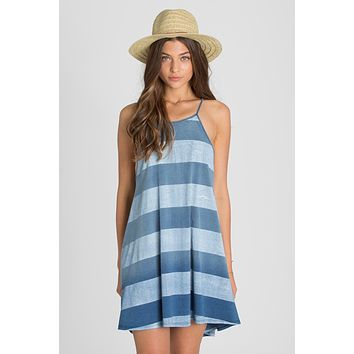 Billabong - Through The Palms Dress | Aged Indigo