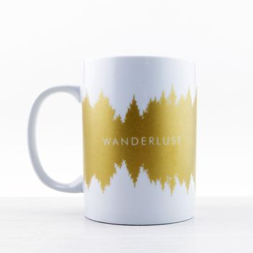 Decorative Ceramic Mug - Wanderlust