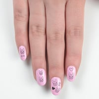 BETTIE THE FRENCHIE NAIL DECALS