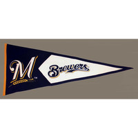 Milwaukee Brewers MLB Classic Pennant (17.5x40.5)