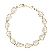 Susanna Link Bracelet in White Iridescent - Kendra Scott Jewelry