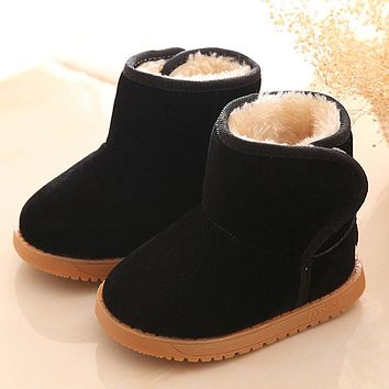 Baby Girl's Fall/Winter Black Boots