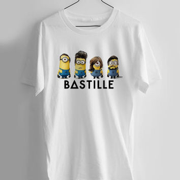 bastille minions T-shirt Men, Women and Youth
