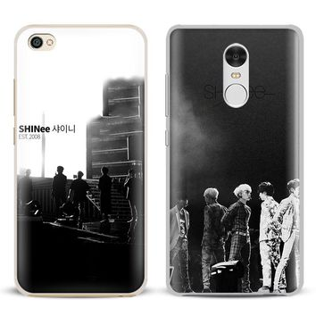 SHINee KPOP Boy group Coque Phone Case Shell Cover For Xiaomi Redmi Note 4 4X 5A 6 6A PRO Mi 8 5 5S PLUS Max A1 Note 2 3