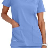 Greys Anatomy Signature 2 Pocket Top.