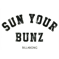 Billabong Sun Your Bunz Sticker Black One Size For Men 25749110001