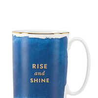 Kate Spade Posy Court Mug Blue ONE