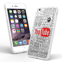 The Youtubers Collage Quotes iPhone and Samsung Galaxy Case