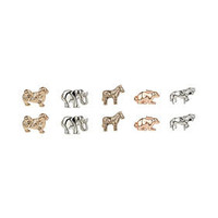 Mix Animal Stud Earring Pack