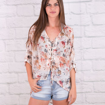 Whimsical Garden Top