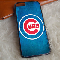 Chicago Cubs Texture iPhone 6 | 6S Case