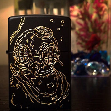 Custom Hand Engraved Lighter