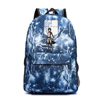 Cool Attack on Titan New  Backpacks Japan Anime Sac A Dos Printing Male/female Travel Backpack School Bag Pack For Teenagers AT_90_11