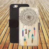 iphone 5 5s case dream catcher iphone 4/ 4s iPhone 6 6 Plus iphone 5C Wallet Case , iPhone 5 Case, Cover, Cases colorful pattern L097