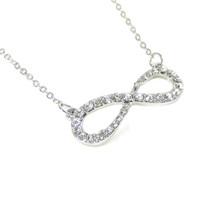 Two layer Infinyt Necklace