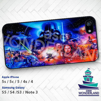 Star Wars, iPhone 5 case, iPhone 5C Case, iPhone 5S case, Darth Vader iPhone 4 Case, iPhone 4S Case, Han Solo Samsung S3 S4 S5 Note3 -STW16