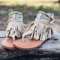 Not Rated Chia Sandals in Nude