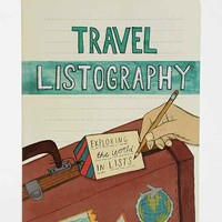 Listography Travel Journal- Assorted One