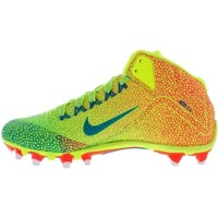 Nike Men's Alpha Pro 2 Mid TD LE Football Cleats - Volt/Red/Green | DICK'S Sporting Goods