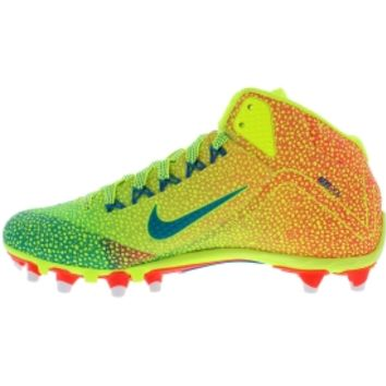 Nike Men's Alpha Pro 2 Mid TD LE Football Cleats - Volt/Red/Green | DICK'S  Sporting Go