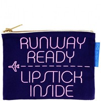 Flight 001 – Where Travel Begins.  F1 Runway Ready Pouch - Toiletry Bags - All Products