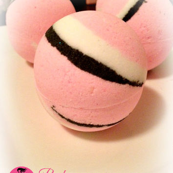 Pink Napoleon Bath Bomb Fizzy Handmade Bath and Body Bath Soak