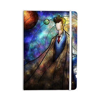 "Mandie Manzano ""The 10th"" Space Blue Everything Notebook"