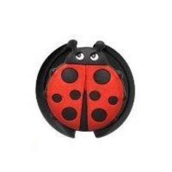 Stethoscope ID Tag 3D Soft Rubber Lady Bug Design SmartCharms