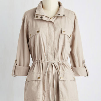 Coastal Train Trip Jacket | Mod Retro Vintage Jackets | ModCloth.com
