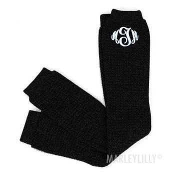 Monogrammed Long Boot Warmer | Marley Lilly