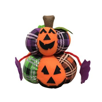 Halloween Party Doll Decoration Cute Pumpkin Ghost Black Cat Doll Toy for Home Decor Halloween Party DIY Doll Toy Party Supplies
