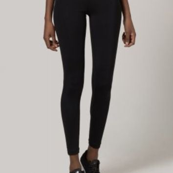 Nike Performance PRO TRAINING - Tights - black/vivid pink/anthracite - Zalando.co.uk