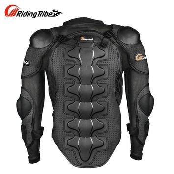 Trendy Protective Gear Motorcycle Armor Protector Motocross Off-Road Chest Body Armour Protection P1353 Jacket Vest Clothing AT_94_13
