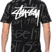 Stussy Stock Scribble T-Shirt