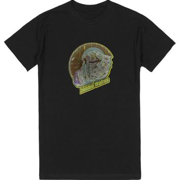Zombie Walrus -Fade Green | T-Shirt | SKREENED
