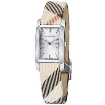 Burberry Women's BU9503 Heritage Nova Check Strap Watch