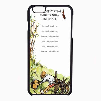 winnie the pooh song FOR IPHONE 6 CASE NEWEST **