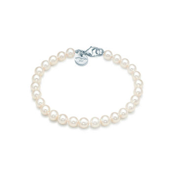 Tiffany & Co. - Ziegfeld Collection:Pearl Bracelet