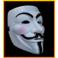 ANONYMOUS V FOR VENDETTA GUY FAWKES FANCY DRESS HALLOWEE FACE MASK