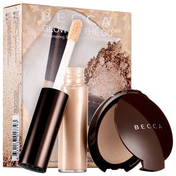 Sephora: BECCA : Glow on The Go Shimmering Skin Perfector™ Moonstone Set : complexion-sets